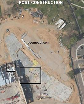 aerial photograph of same GPR and EM GeoModel, Inc. survey area
