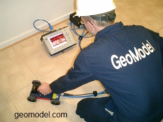 concrete inspection survey using ground penetrating radar